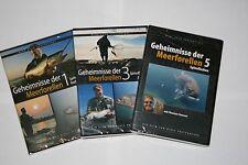 DVD Geheimnisse der Meerforellen Teil 1 & 3 & 5 ( Spinnfischen )