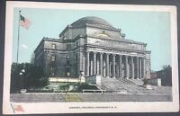 Vintage Postcard Library Columbia University New York C11