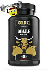 GoldXL/Grow XL Advanced Male Enhancement 60ct Increase Muscle Gains/Stamina