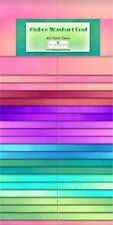 Ombre Washart Cool 40pcs 2-1/2in Strips Jelly Roll Rollup Fabric 842-35