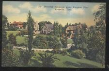 Postcard KNOXVILLE Tennessee/TN  Kingston Pike Area Family Houses/Homes 1930's