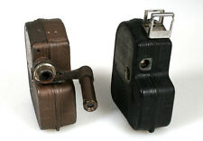 8MM MOVIE CAMERAS ART DECO FOR DISPLAY ONLY SET OF 2