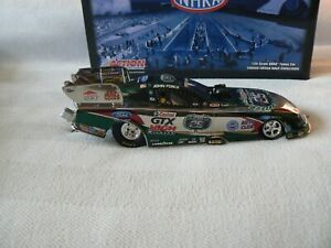JOHN FORCE 2010 1/24 GTX 25TH FORD MUSTANG FUNNY CAR(COLOR CHROME)