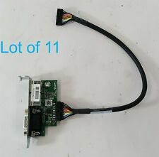 Lot of 11 Hp Ps2 Serial Port 910110-001 902760-001 w/ Cable