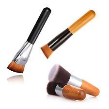 3Pcs Pro Makeup Brush 163 Flat Contour Face Foundation Powder Blush Brush Set US