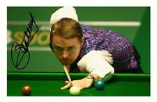 STEPHEN HENDRY AUTOGRAPHED SIGNED A4 PP POSTER PHOTO 2