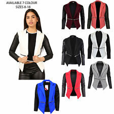Unbranded Blazer Outdoor Cropped for Women