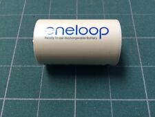 """Sanyo Eneloop """" D""""  HR-3UTG HR6 AAA with """"D"""" NCS-TG-D adapter NEW"""