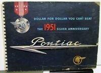 1951 Pontiac Dealer Album Catalina Chieftain DeLuxe Streamliner Wagon Coupe