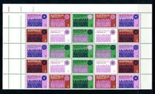 More details for australia 1971 christmas unmounted mint pane of 25, cream paper. sg 498-504