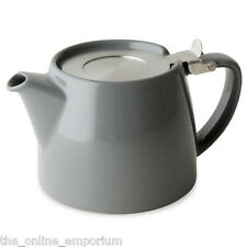 GREY FOR LIFE TEAPOT & INFUSER, BAMBOO TRAY & CREAMER - OPTION TO ADD SUKI TEA