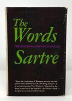 Jean-Paul Sartre - The Words - HCDJ 1st 1st - 1964 - NR