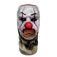 Clown - Faceskinz Maske (Mund Offen )
