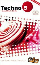 Techno Ejay 5 Virtual Music Studio - PC (New & Sealed)