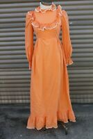 Vintage Long Prairie Dress Maxi 1960s Festival Costume Theater