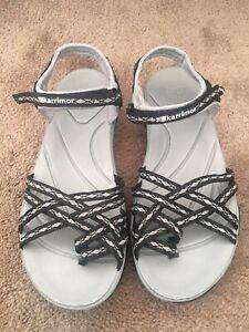 Ladies Black Salina Sandals