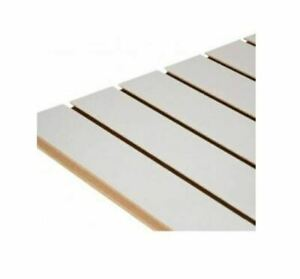 Slatwall Panel Grey 1200mm x 1200mm sq 4 foot x 4 foo ft