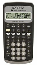 TEXAS INSTRUMENTS Financial Calculator TI-BA II Plus VE1