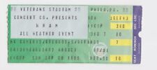 WHAM! GEORGE MICHAEL CONCERT TICKET STUB VETERANS STADIUM SEPTEMBER 8, 1985