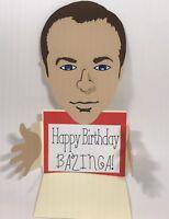 Christmas or Birthday Handmade Gift Card Holders - The Big Bang's Sheldon Cooper
