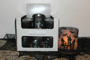 Yankee Candle Witches Brew Votives x18~Full Box~Patchouli~Plus Votive Holder~
