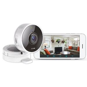 D-Link DCS-8100LH HD 180 Panoramic  Degree 720p Wi-Fi Camera Two Way Audio