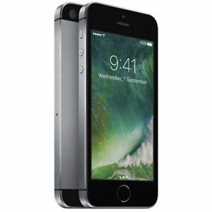 iPhone SE 16/32/64/128GB Apple Grey Pink Gold Silver Unlocked Smartphone 1st-Gen