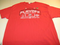Ohio State Buckeyes 2019 Fiesta Bowl College Football Playoff T-Shirt New NWT XL