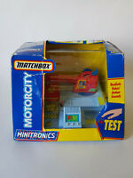 MATCHBOX MOTORCITY MINITRONICS Crane Vintage 1992 Boxed EXCELLENT CONDITION