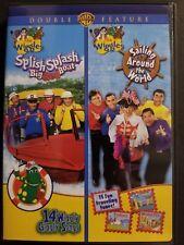 The Wiggles: Splash Splash Big Red Boat / Sailing Around The World (DVD, 2009)