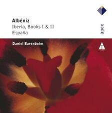 Daniel Barenboim - Albeniz : Iberia Books 1 & And 2 (NEW CD)
