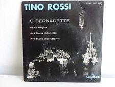 TINO ROSSI O Bernadette ESVF 1023