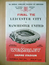 1963 FA CUP FINAL - LEICESTER CITY v MANCHESTER UNITED