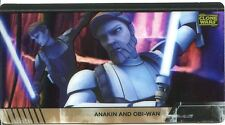 Star Wars Clone Wars Widevision Animation Cel Chase Card #9
