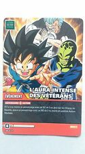 Carte Dragon ball Z L'aura intense des vétérans DB-872