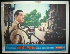 Hitchcock's Dial M for Murder 1954 11x14 Original U.S lobby card 3 in Toploader