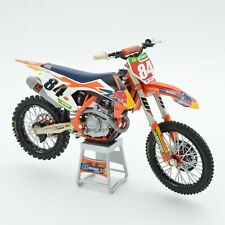 Herlings Rot Bull Ktm 450 Sx-F 1:12 Motocross MX Spielzeug Modell Rad New Ray