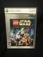 LEGO Star Wars: The Complete Saga(Microsoft Xbox 360, 2006) COMPLETE AND TESTED