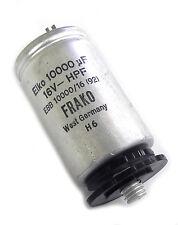 Studer 59.26.3103 Frako Elko 10,000UF 16V Stud Mount Electrolytic Capacitor. SR