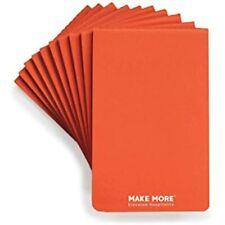 Pack Of 10 Orange Revenue Booster Notepads Restaurant Waitress &amp Waiter, 80