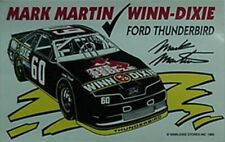 1993 MARK MARTIN WINN-DIXIE #60 THUNDERBIRD STICKER