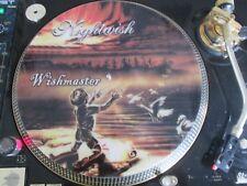 "Nightwish - Wishmaster ULTRA RARE 12"" PICTURE DISC PROMO SINGLE LP"