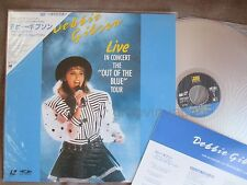 DEBBIE GIBSON Live in Concert-Out of the JAPAN Laser Disc LD 45P6-9033 w/OBI