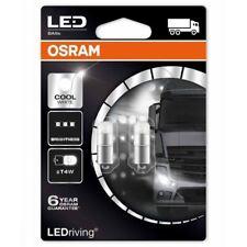 OSRAM DEL T4W voiture 24 V Blanc Froid Ampoules 6000K à baïonnette 233 3924CW-02B (Twin)
