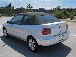 E-Z On Volkswagen Cabrio 2001-02 Convertible Soft Top & Glass windo Black Cabrio