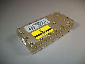 RF Microwave VertiCom MTS1500E-169-01 B2 Oscillator 18.125 - 19.150MHz SMA YIG