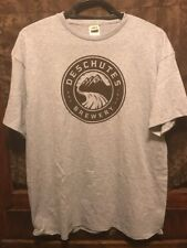 Deschutes Brewery Bend Oregon ~ Xl ~ New ~ Official Logo Beer T Shirt
