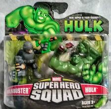 ✰✰ HULKBUSTER & SMASHING HULK ✰ SUPERHERO SQUAD FIGURES ✰✰ AVENGERS