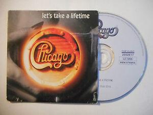 CHICAGO : LET'S TAKE A LIFETIME ♦ CD SINGLE PORT GRATUIT ♦