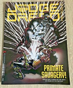 Judge Dredd Magazine Comic Issue 411 September 2019 Primate Savagery